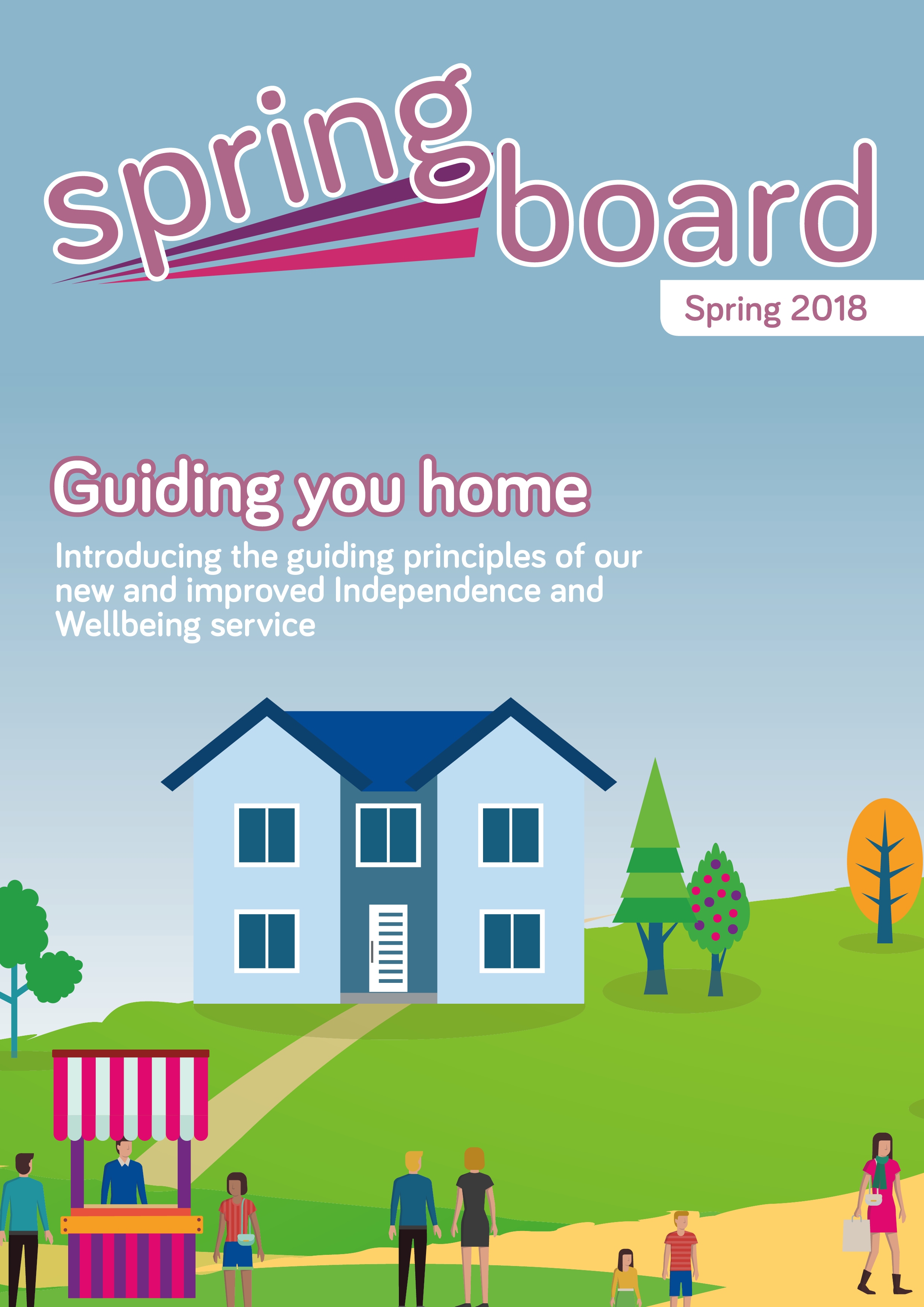 Springboard front cover